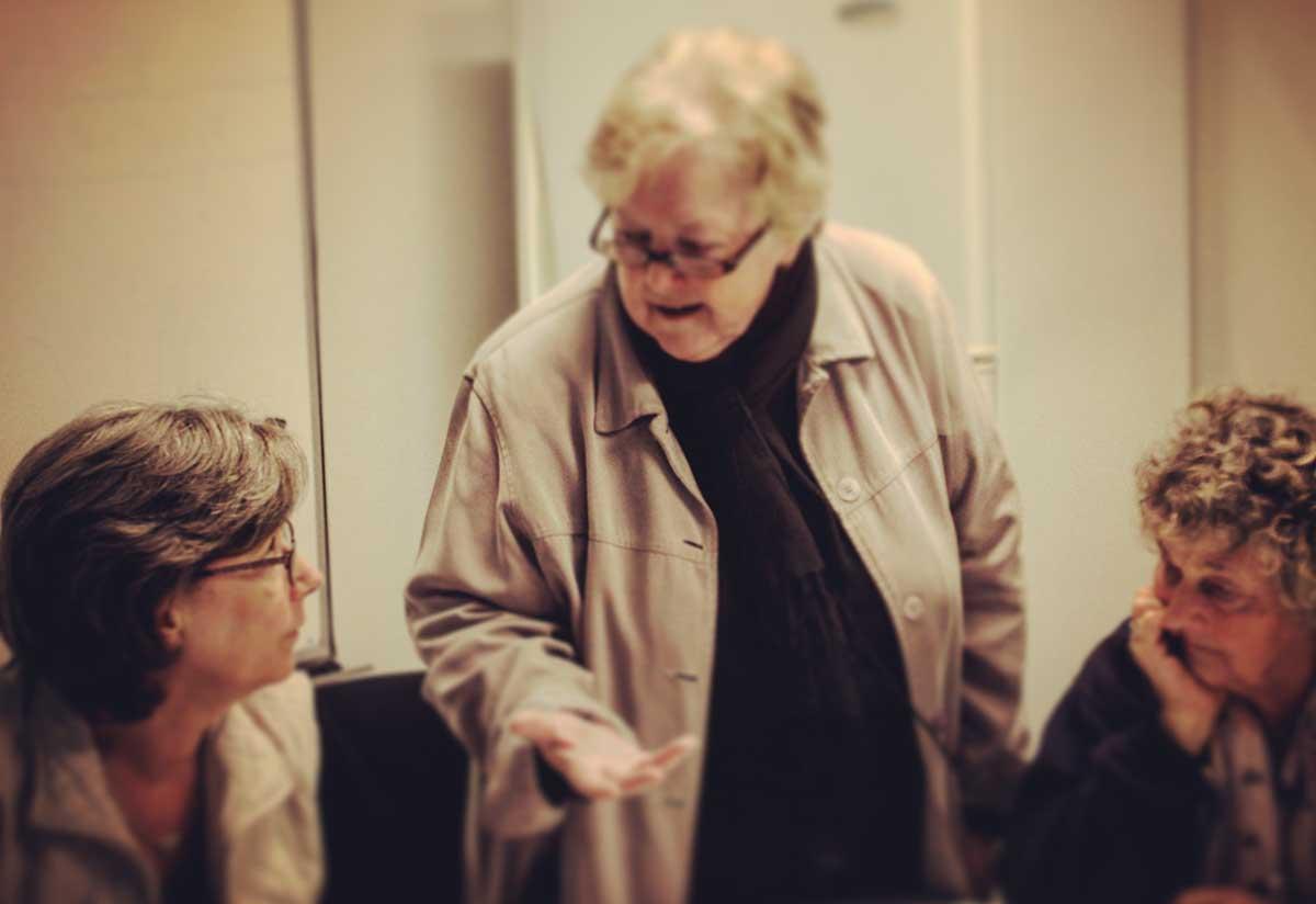 GBA's resident podcasting expert Gerri Donaldson imparts some wisdom