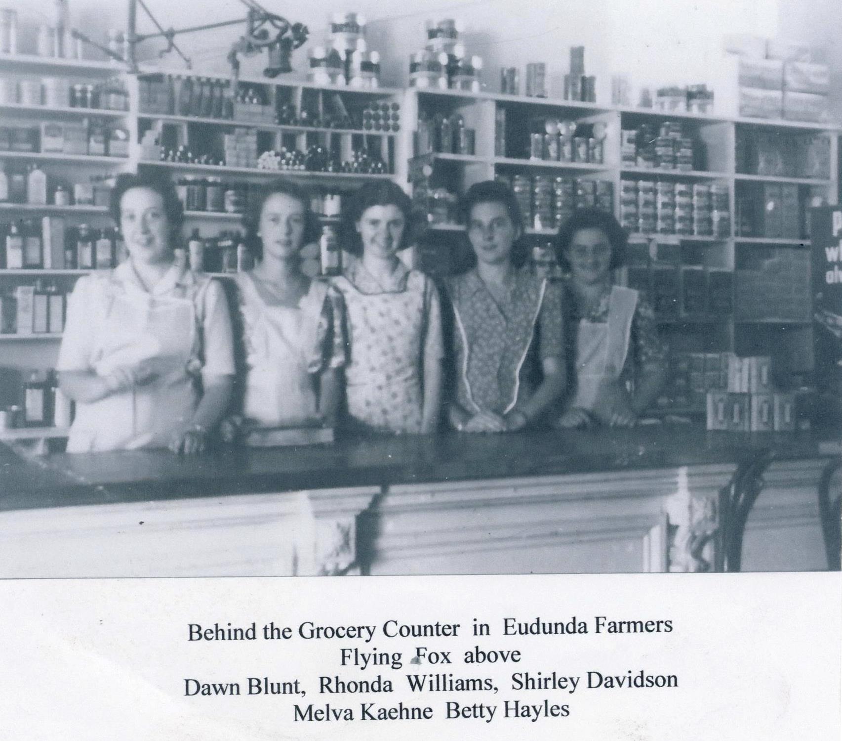 Eudunda Farmers' Counter Staff 1947