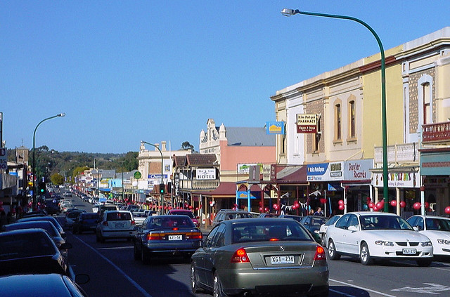 Murray St 2006  (Image courtesy of the  Gawler History Team )