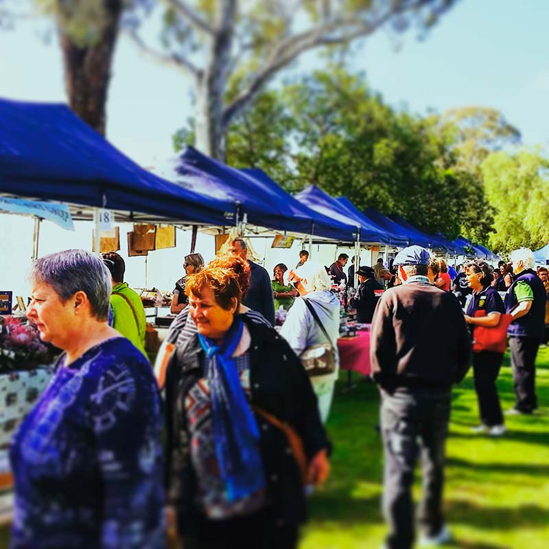 The GBA covered the Rotary Gawler Village Fair as part of Gawler's Big Weekend 2016
