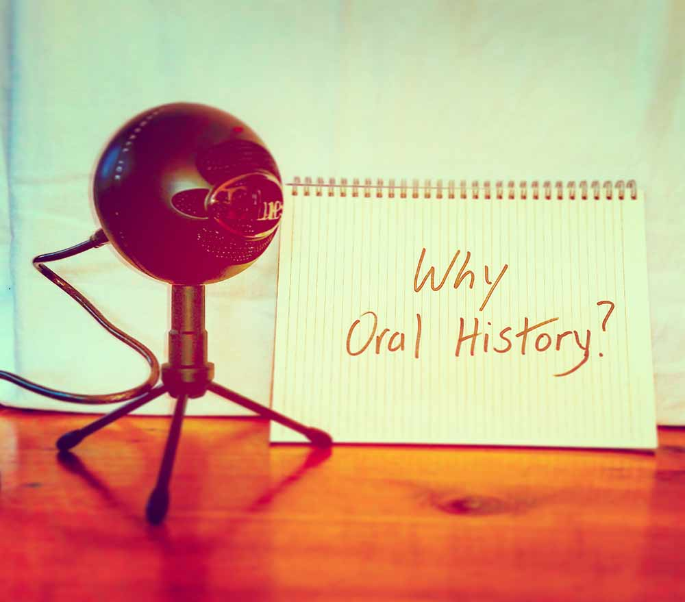 Why Oral history Link image