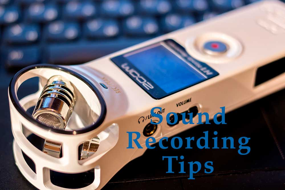Sound Recording Tips Link Image