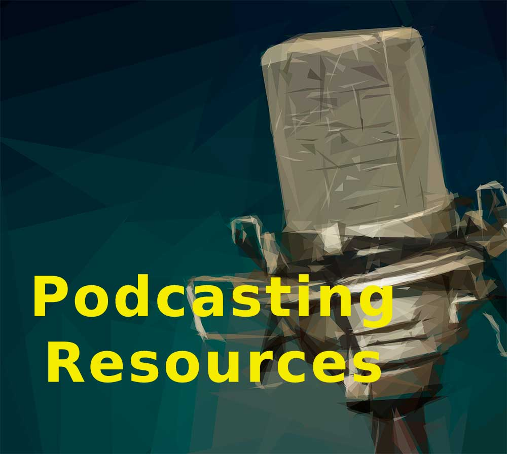 Podcasting Resources Link Image