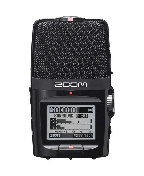 The Zoom H2n Digital Recorder (image courtesy of Zoom Corporation)