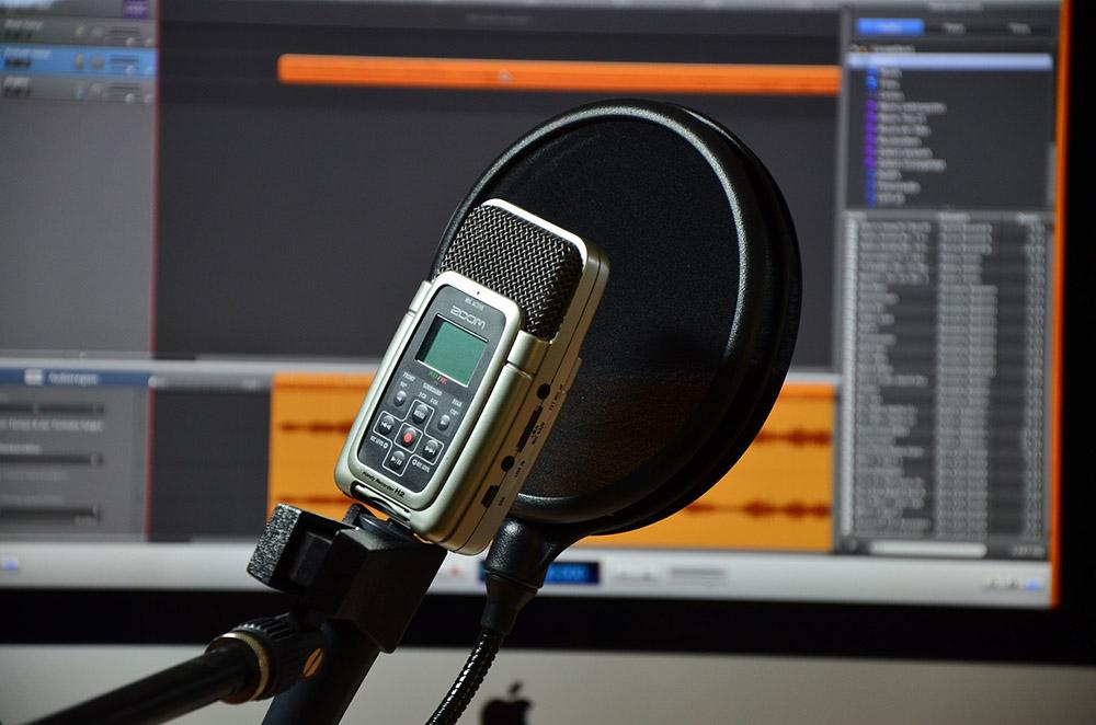 Microphone recording