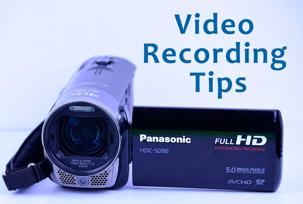 GOHP Video Recording Tips