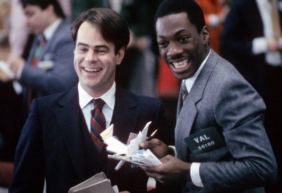 "Eddie Murphy and Dan Akroyd in ""Trading Places""  (Image courtesy of  Amazon.com )"