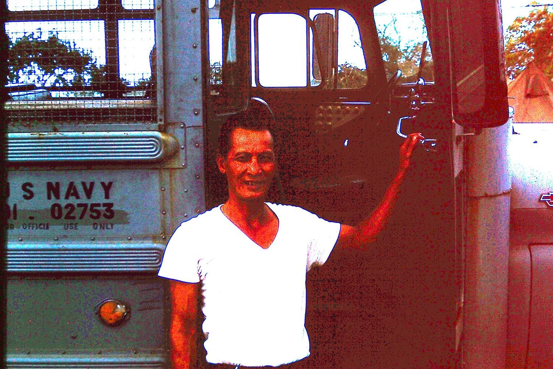 Bus driver Saigon