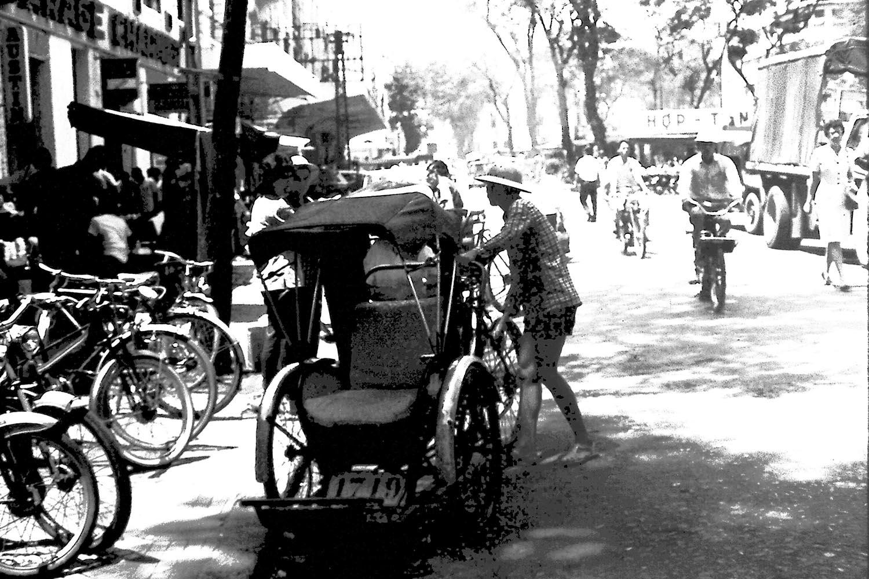 Street scene Saigon