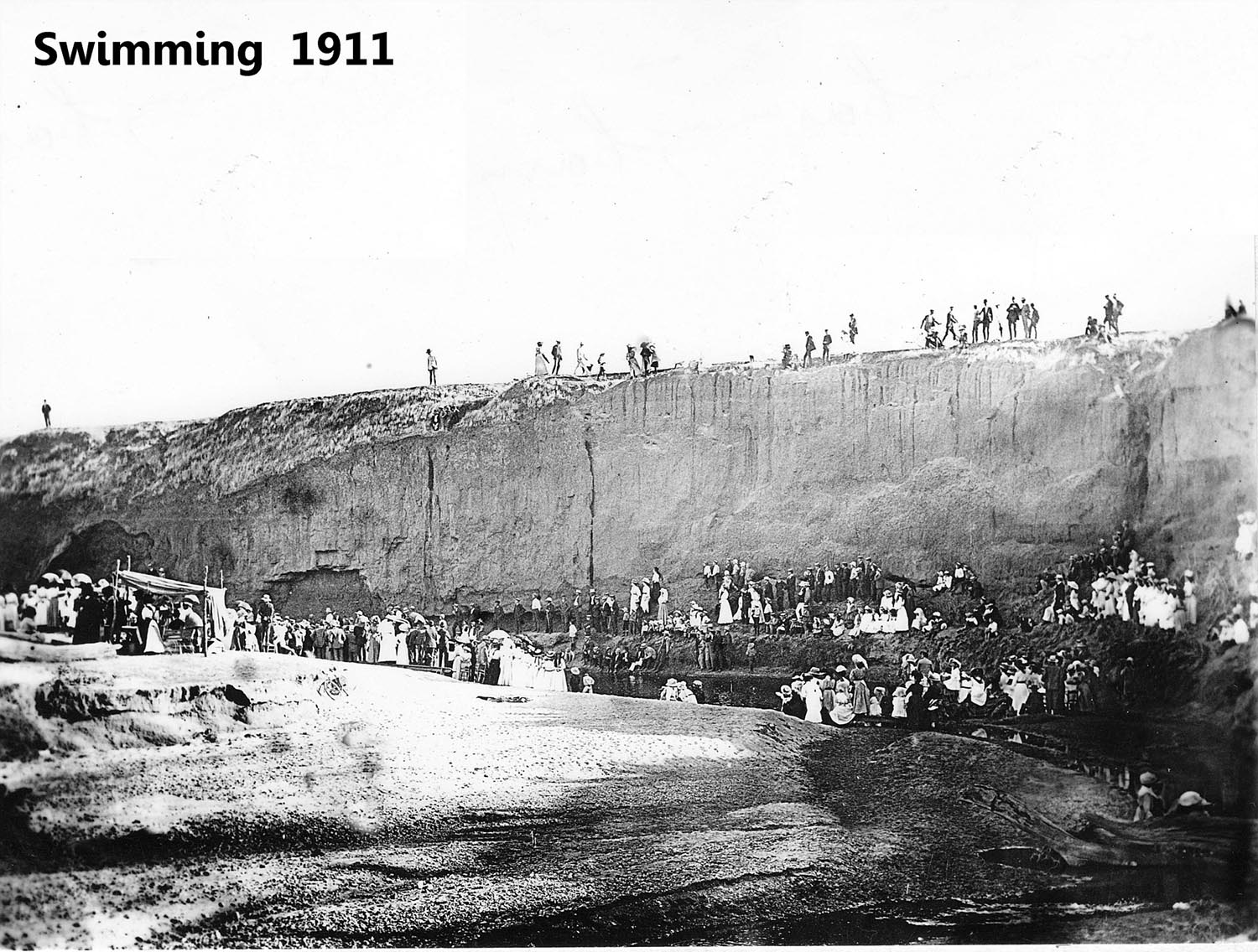 Photo of Redbanks Swimming Hole courtesy of Gawler History Team