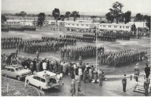 Passing out parade 1965 Puckapunyal