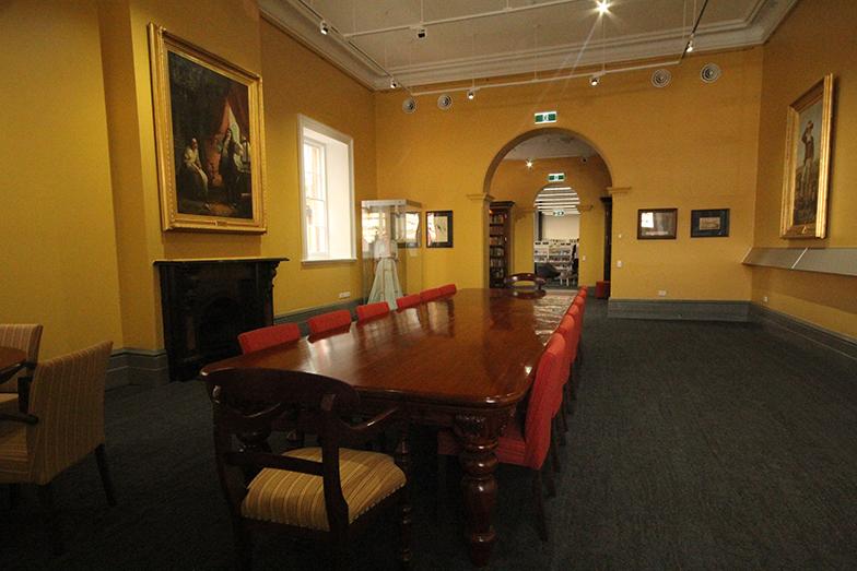 Reading Room Looking Inwards