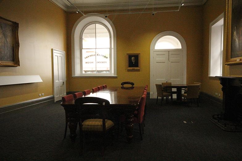 Reading Room Looking Towards Murray Street