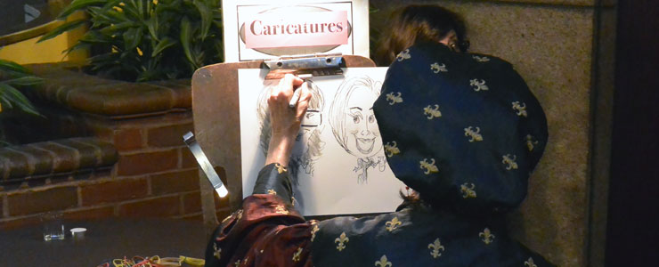 ... and caricatures, too ...