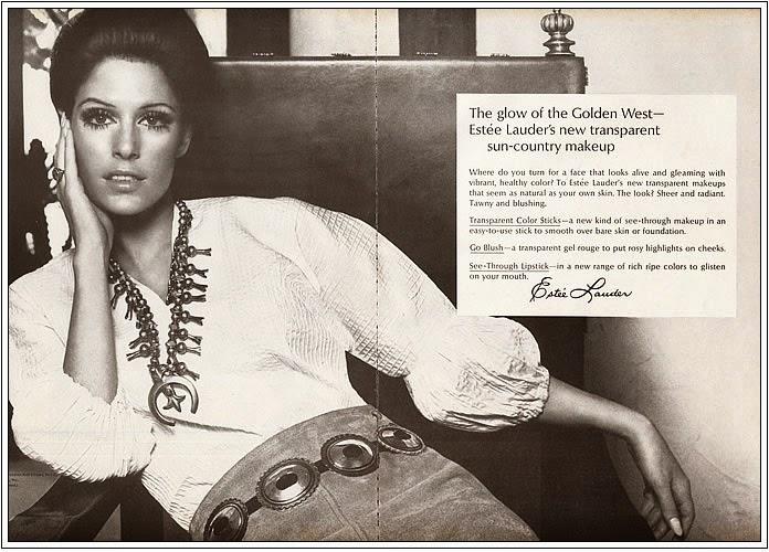 1969 Estee Lauder makeup ad Navajo and Concha Belt.jpg