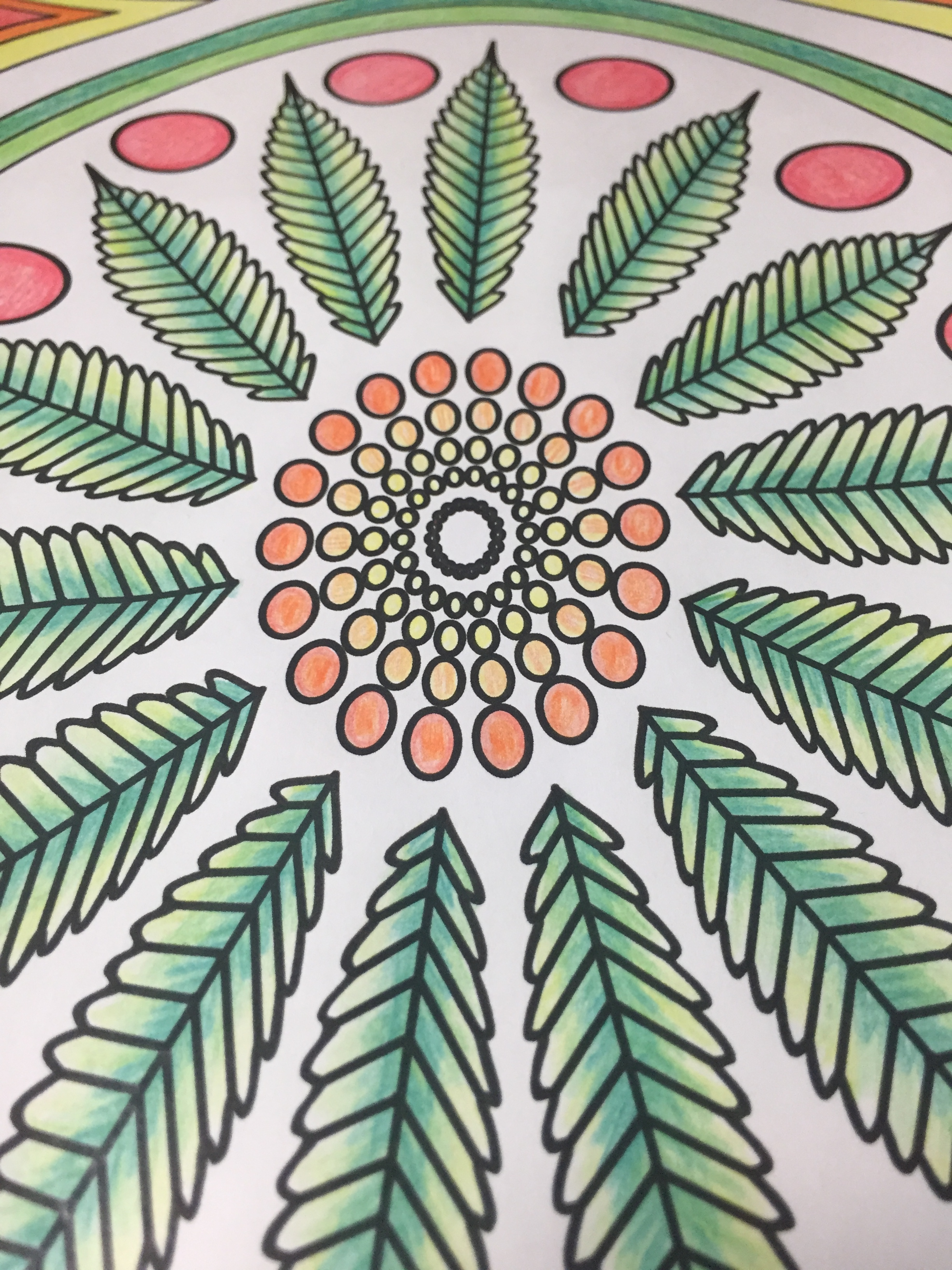 Stoner Coloring Page from Color Me Cannabis