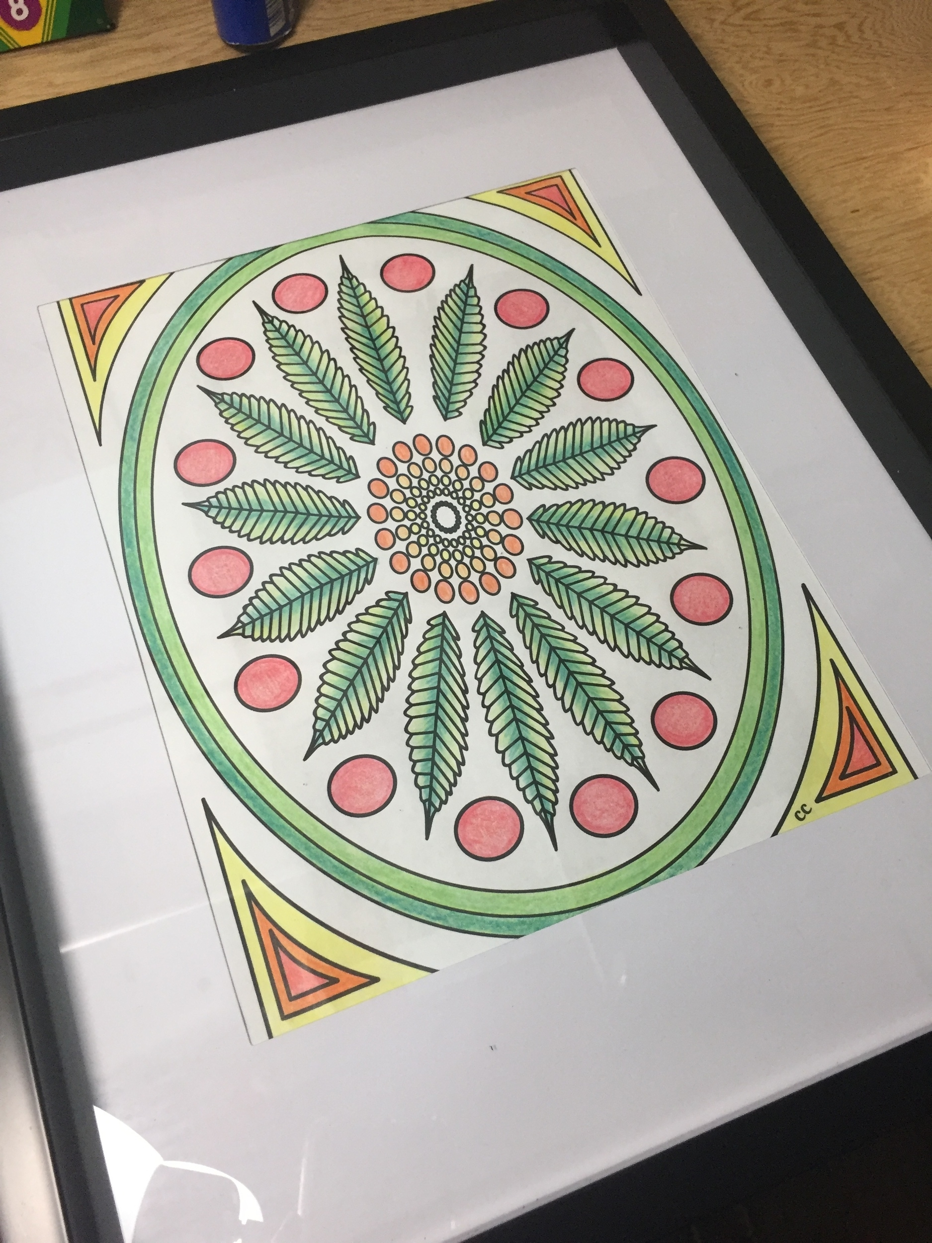 Frame Your Adult Coloring Pages