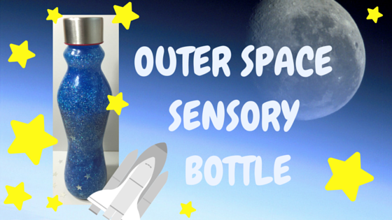 sensory bottle diy outer space