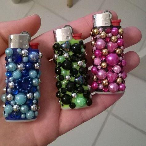 stoner gift decorated lighter