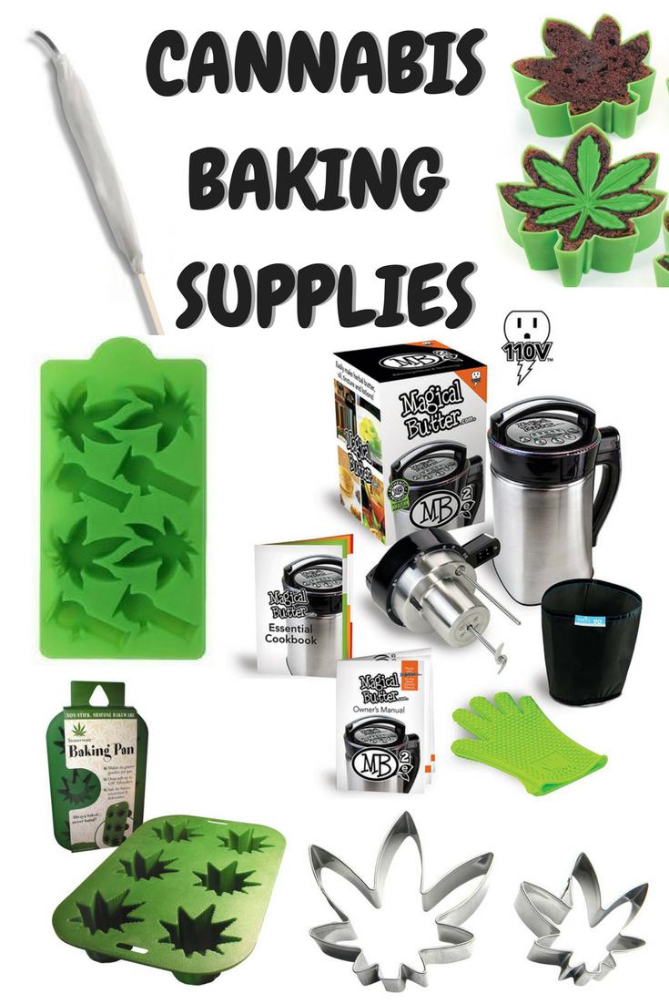 Baking Supplies for Cannabis Edibles