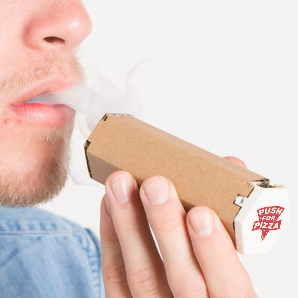 10 Very Unique Types of Pipes and Bongs - The Pizza Box Pipe