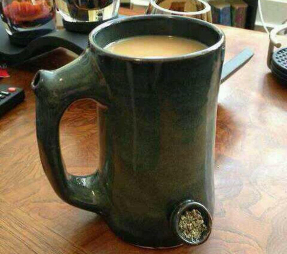 10 Very Unique Types of Pipes and Bongs - The Coffee Mug that is also a Pipe by Zang