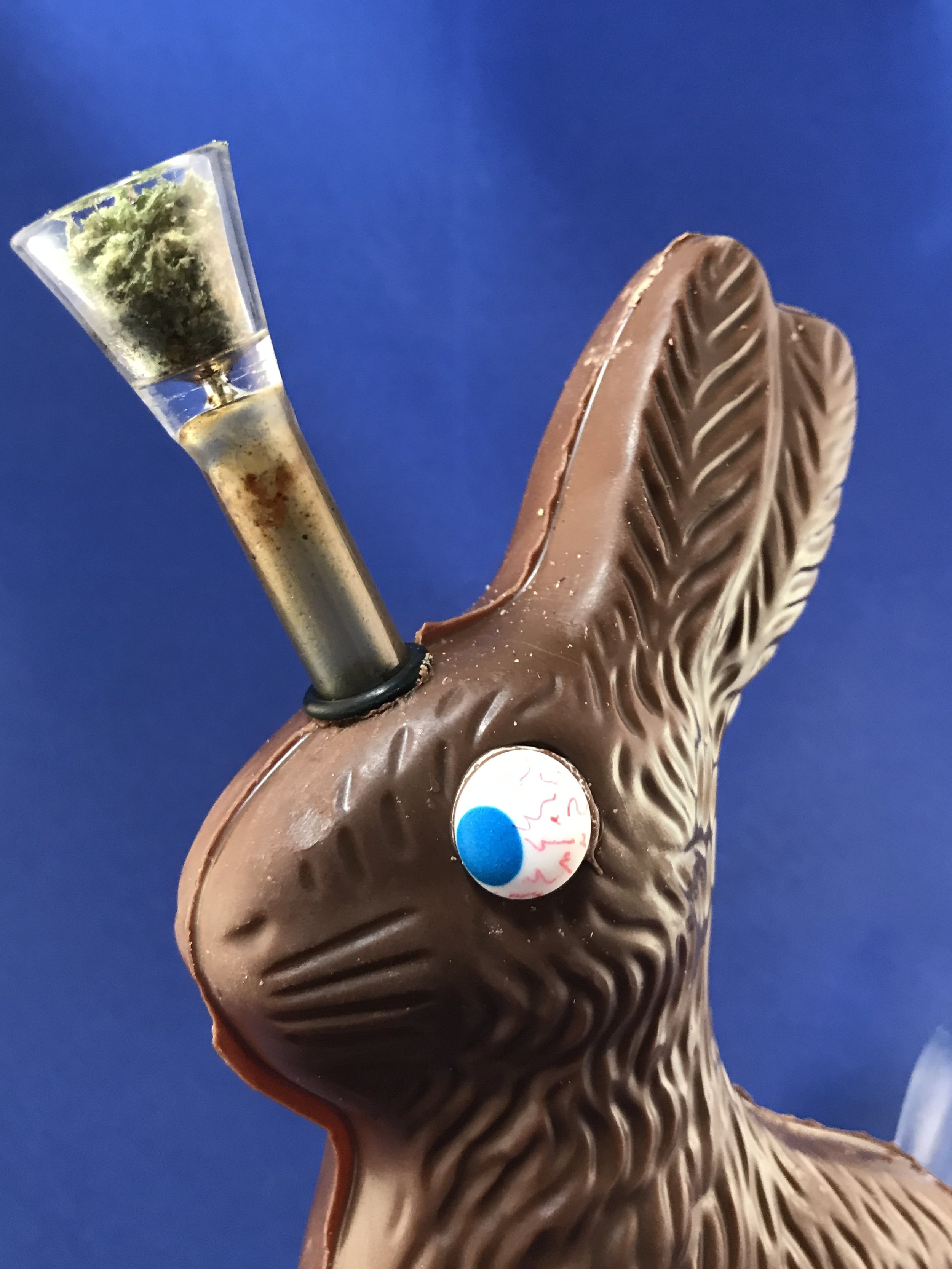 Stoner Crafts: DIY Chocolate Easter Bunny Bong by Chronic Crafter