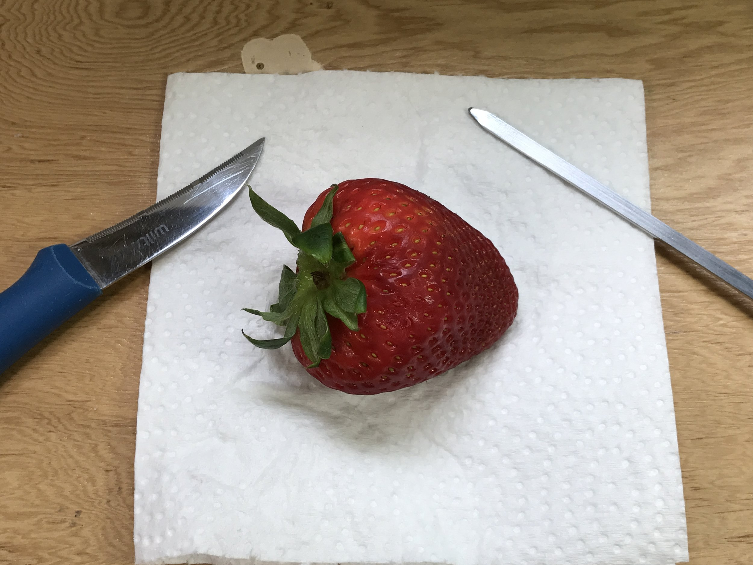 How to Make a Strawberry Pipe
