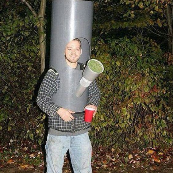 Bong Halloween Costume for Potheads