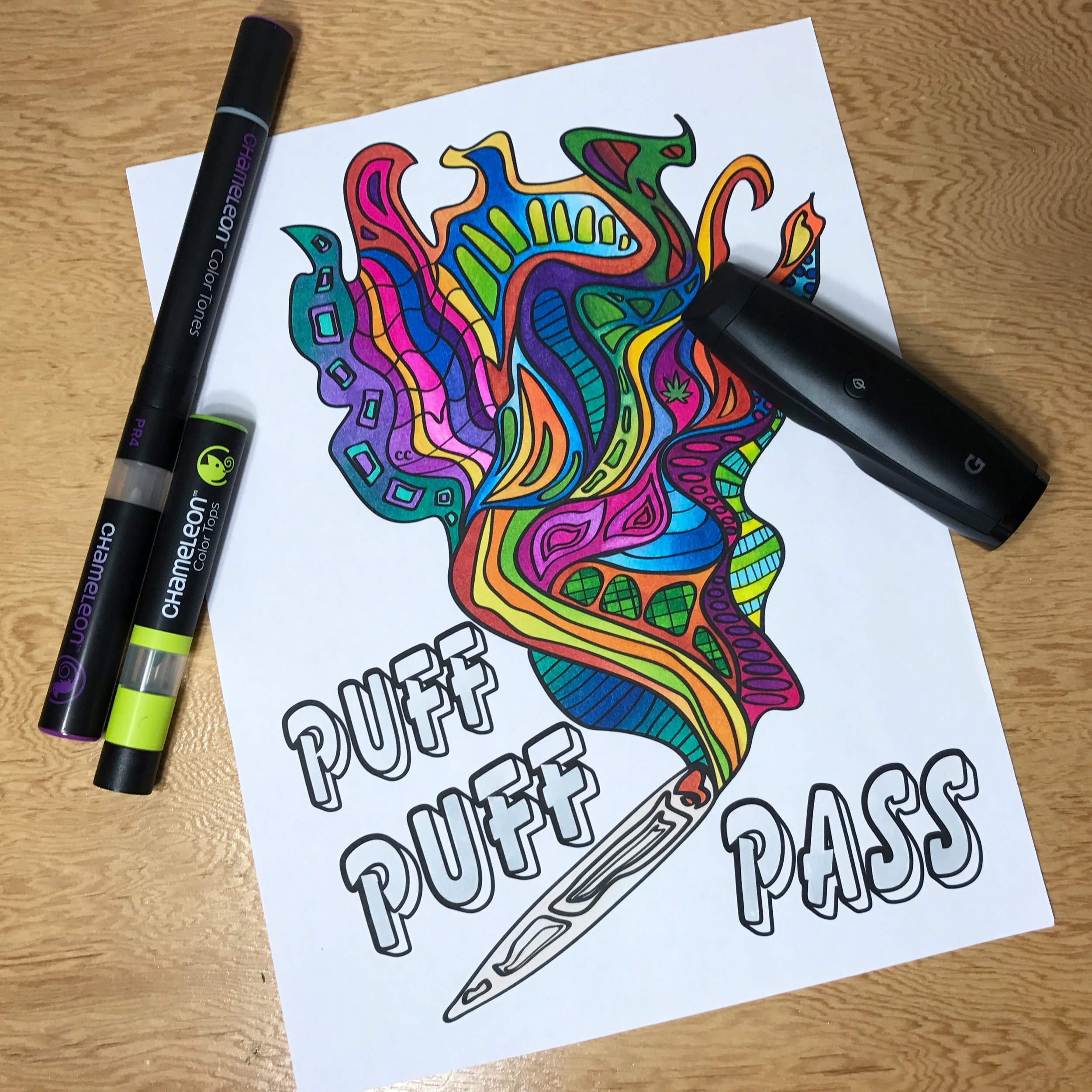 WANT A FREE COLORING PAGE? -