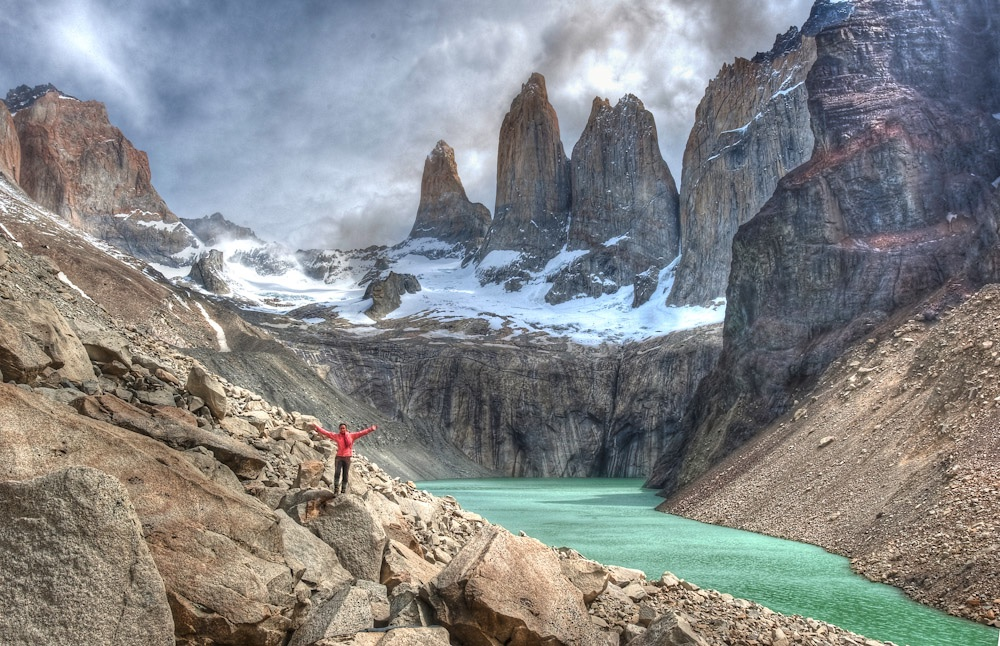 Hiking in Torres Del Paine, Chile | photo Ciclismo Classico