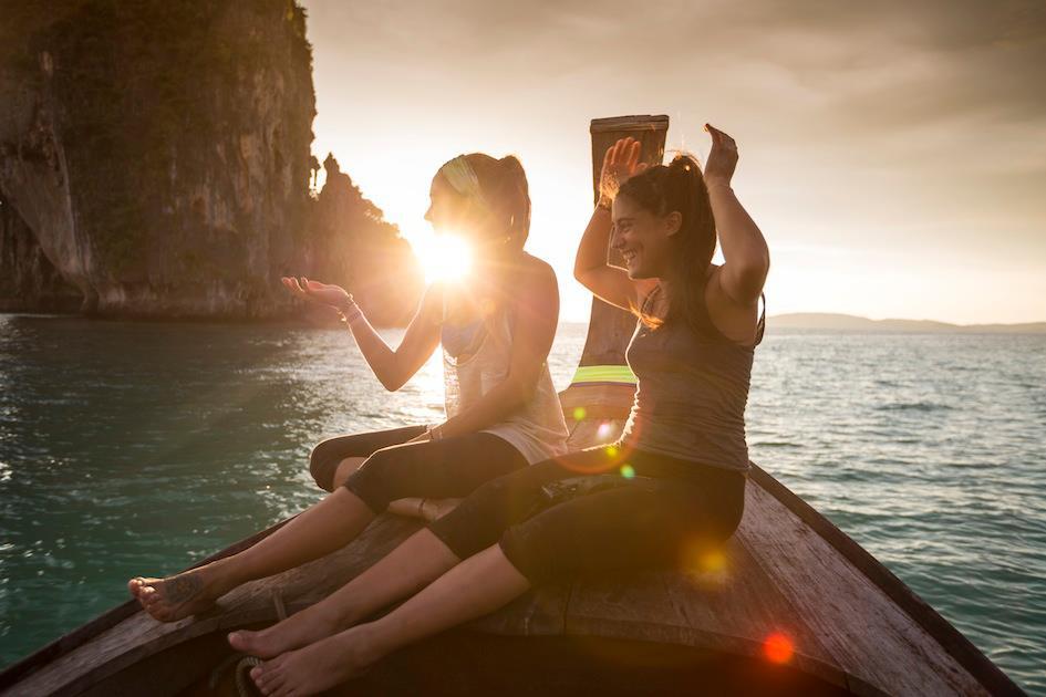 Sunset islands, Thailand | photo Paul Webster