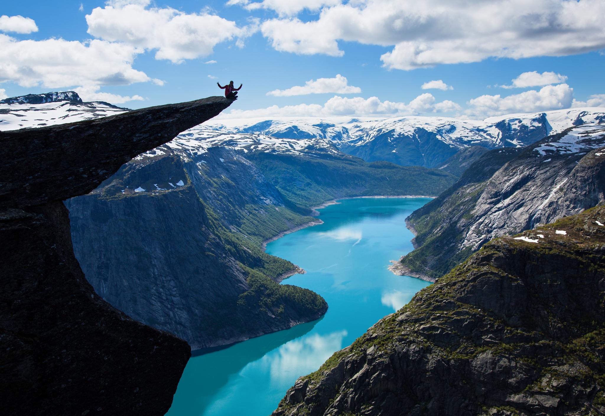 Trolltunga, Norway | Kelsey Sheekey
