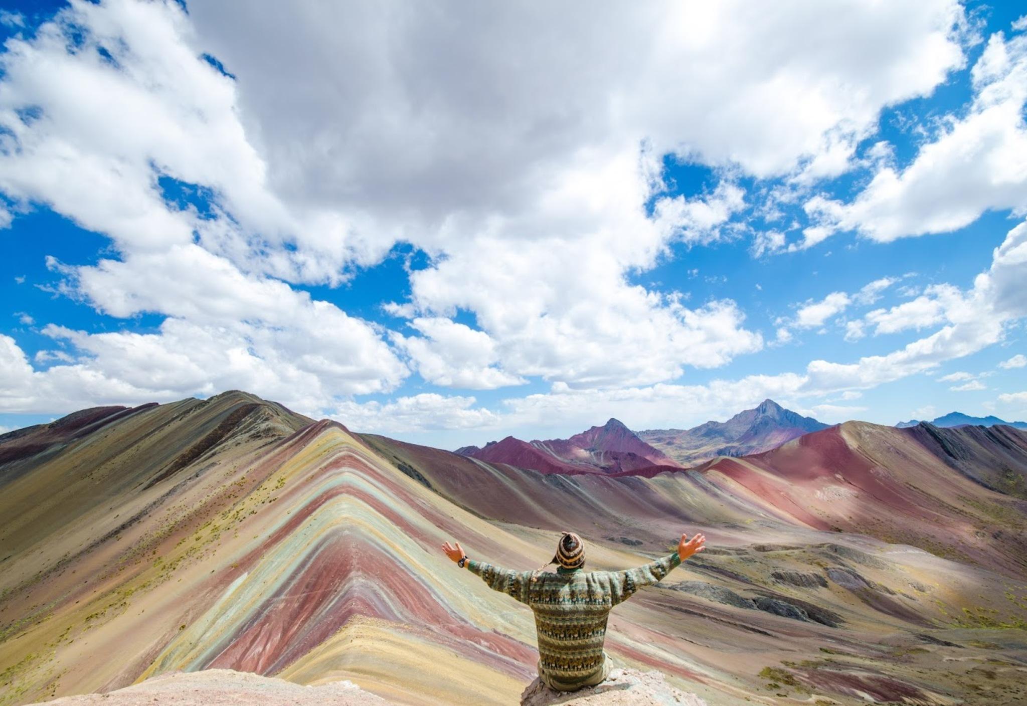 Rainbow Mountain, Peru |B Morris