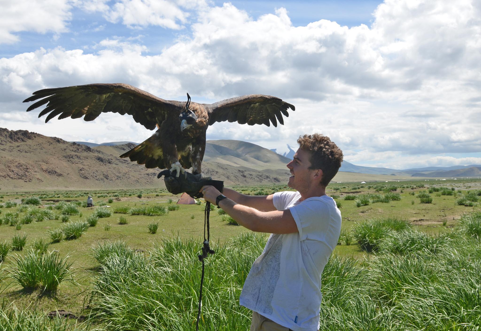 Homestay with Kazakh eagle-hunters, Mongolia, by Jon Collins
