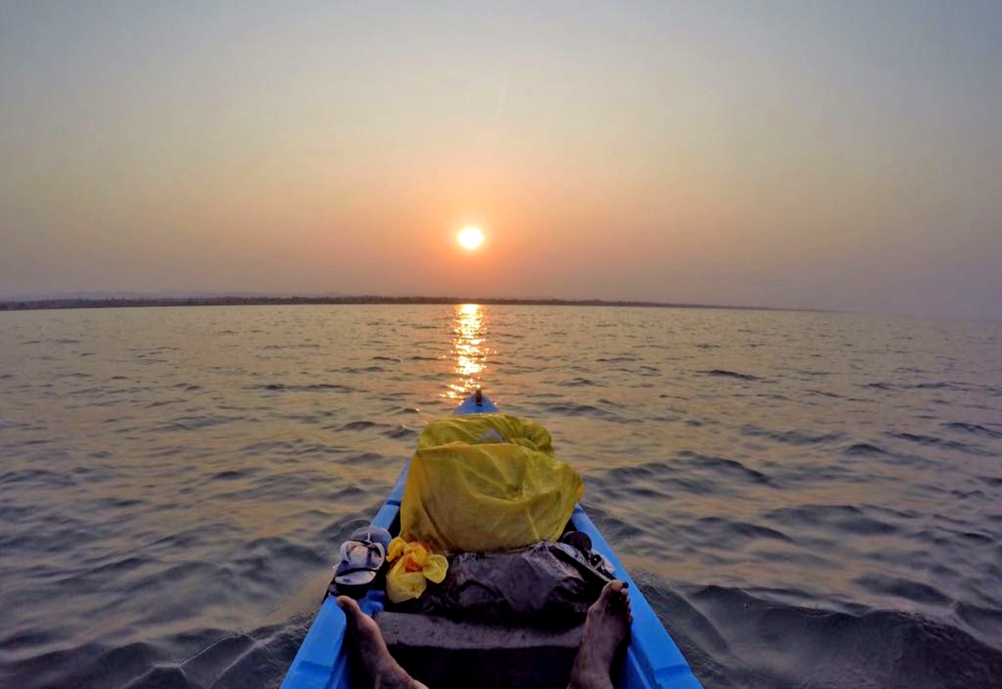 Kayaking the length of Lake Malawi, Africa by Mario Rigby