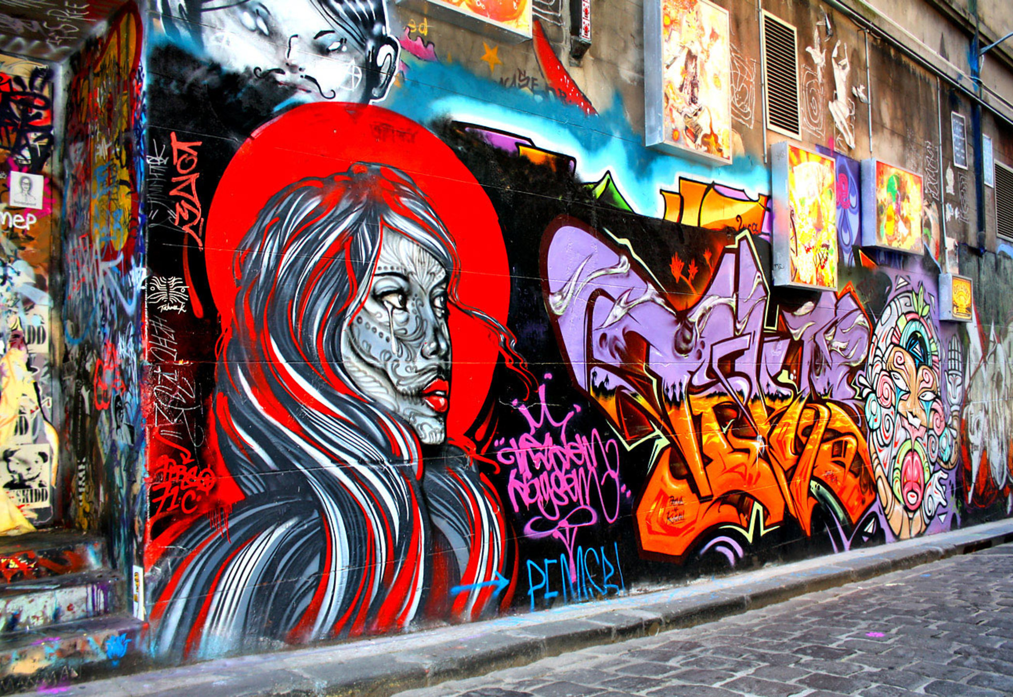 Melbourne, Australia Street Art Safari by Isabel Robinson
