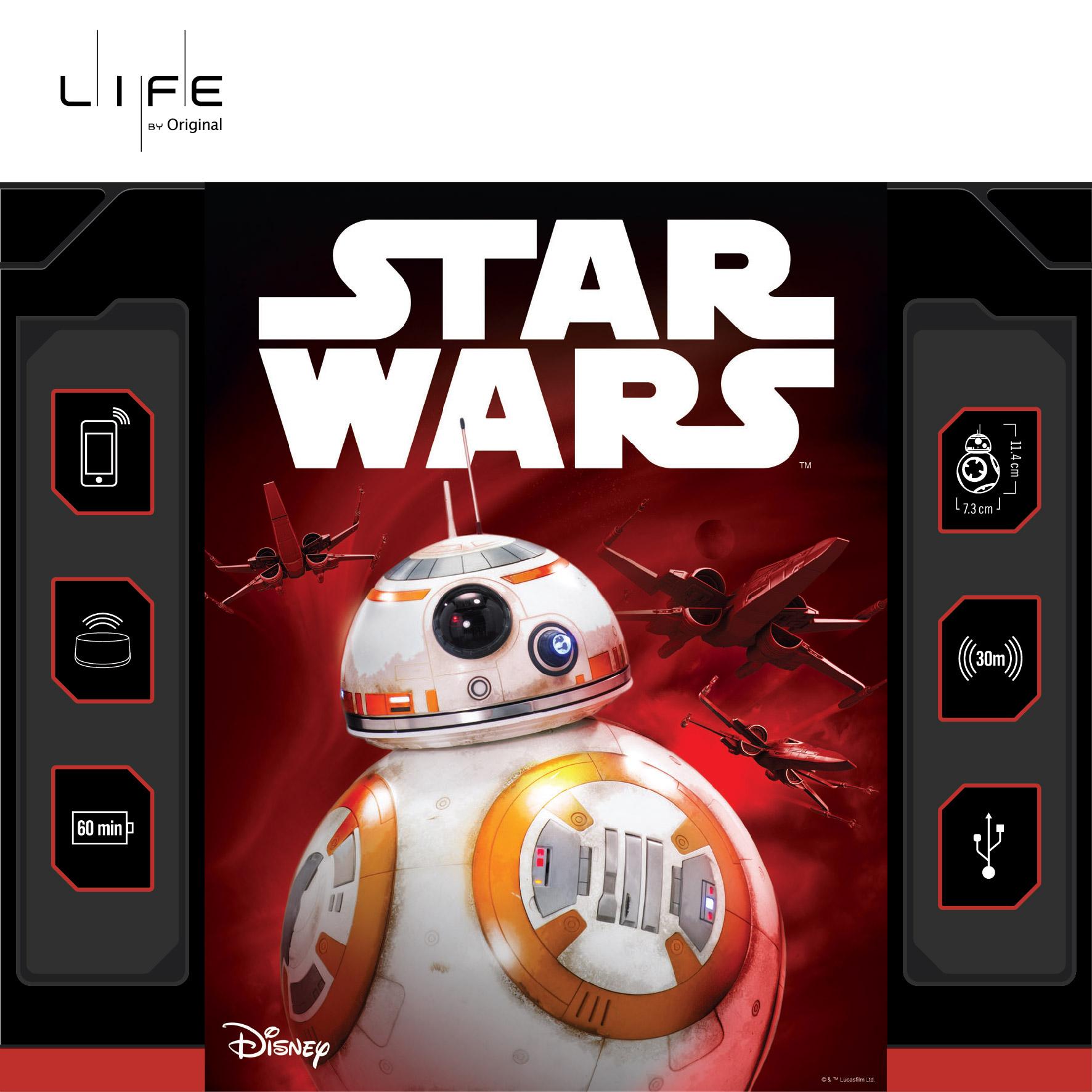 決賽冠軍:智能機械人BB-8 (1個)- MOP 1,238             Champion  : Sphero Star Wars BB-8 Robotic Ball