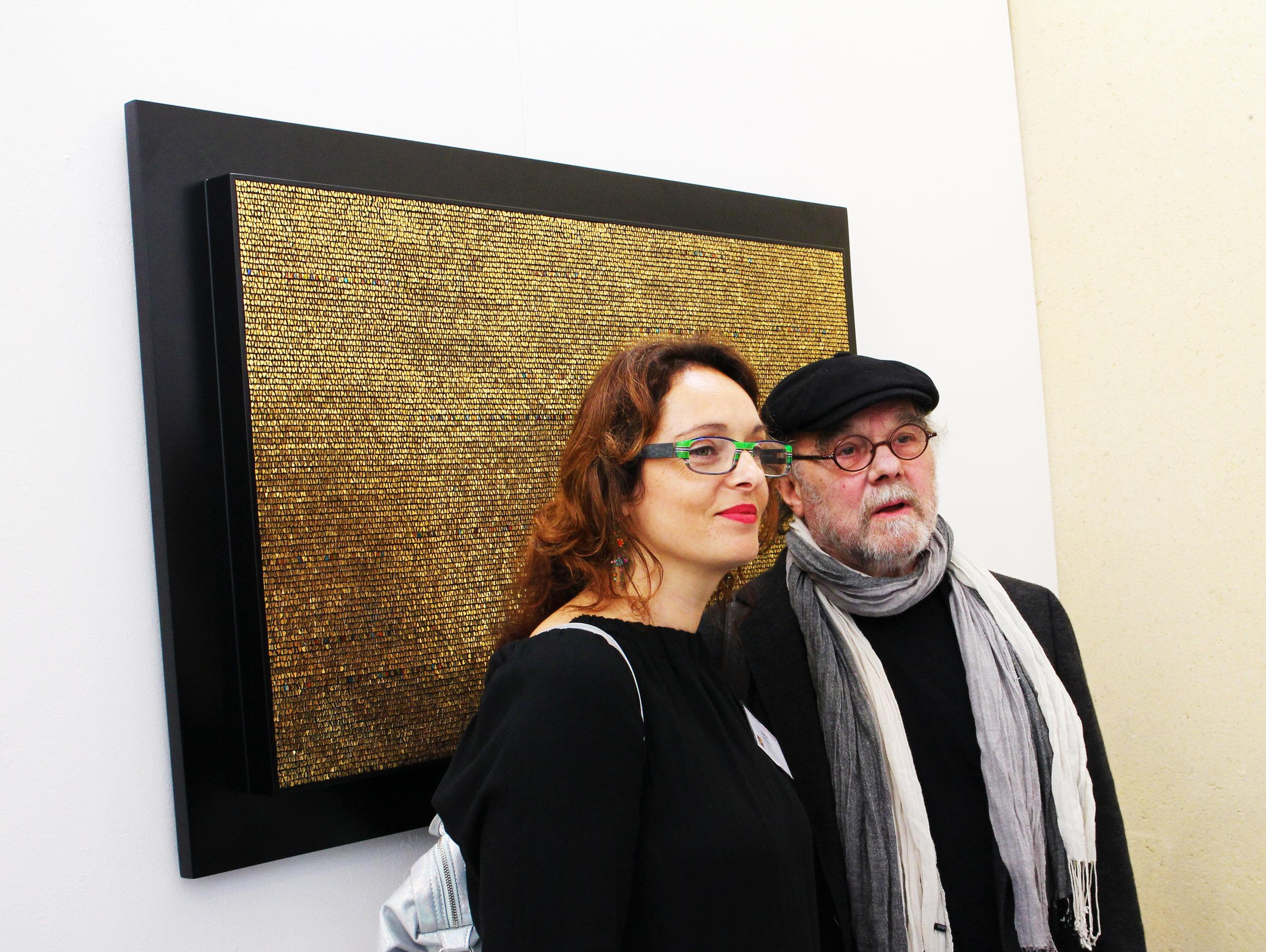 Nathalie Vin and Gerard Brand