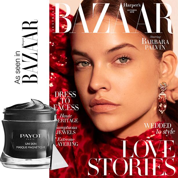 As seen in Harpers Bazaar Uni Skin Masque Magentique.jpg