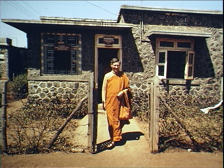 Sangharakshita, my teacher, was one of the few Buddhists in India at the time and he was one of the very few people who responded to the situation. After Ambedkar's death, he'd come down to Maharashtra and travel around helping people to understand the basics of Buddhism. He went back to England in 1964, so when I came down in '77 he asked me to meet some of his old disciples and then asked me to stay here. That's why I stayed here, and I was very keen to. Basically what I found was you had millions of people really wanting meaning in their religion, having enormous faith in Dr. Ambedkar but having had no way to understand it because of the difficulties they faced. So my early work, the first 10 years, a lot of it was just giving talks in localities, in slums, in villages; a lot of touring. Everyone was trying to make sense of his or her new religion, so everywhere I found there was a tremendous response to what we were doing.