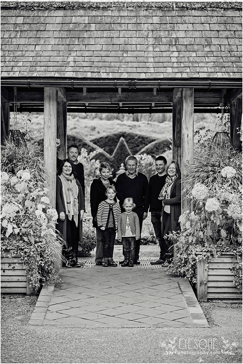 Sneaking the whole crew in to a family portrait, we chose the glorious backdrop of Harrogate's RHS Harlow Carr gardens to show off the family