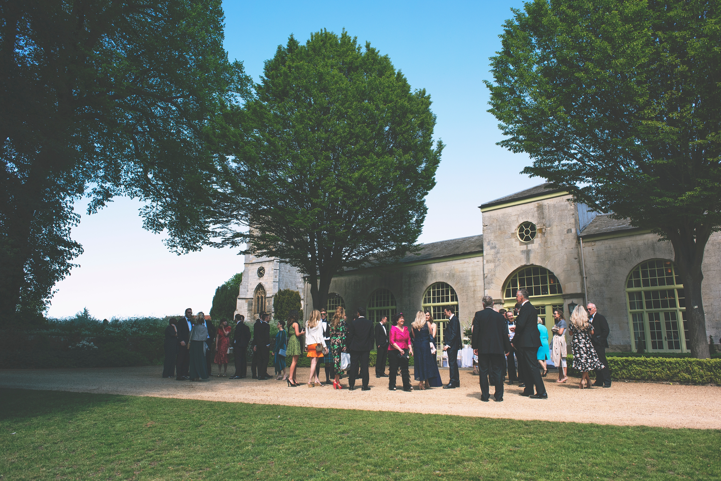 Yorkshire wedding photographer, Orangery Settrington