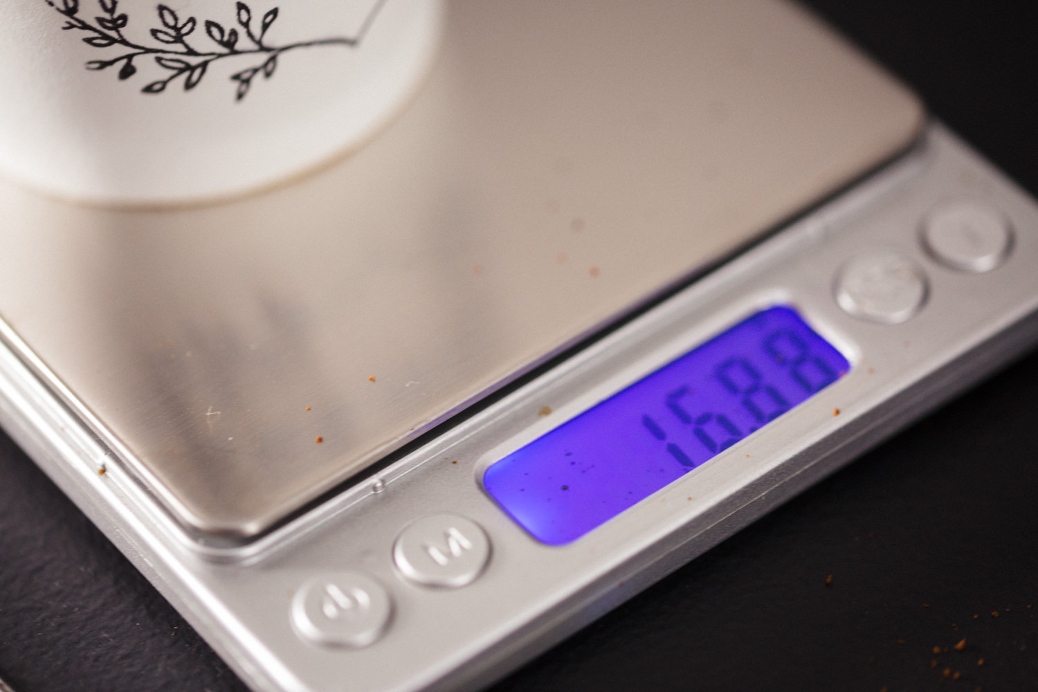 We weigh our doses to ensure every single espresso starts its life in the same way. We eliminate variables to ensure consistancy across the board.
