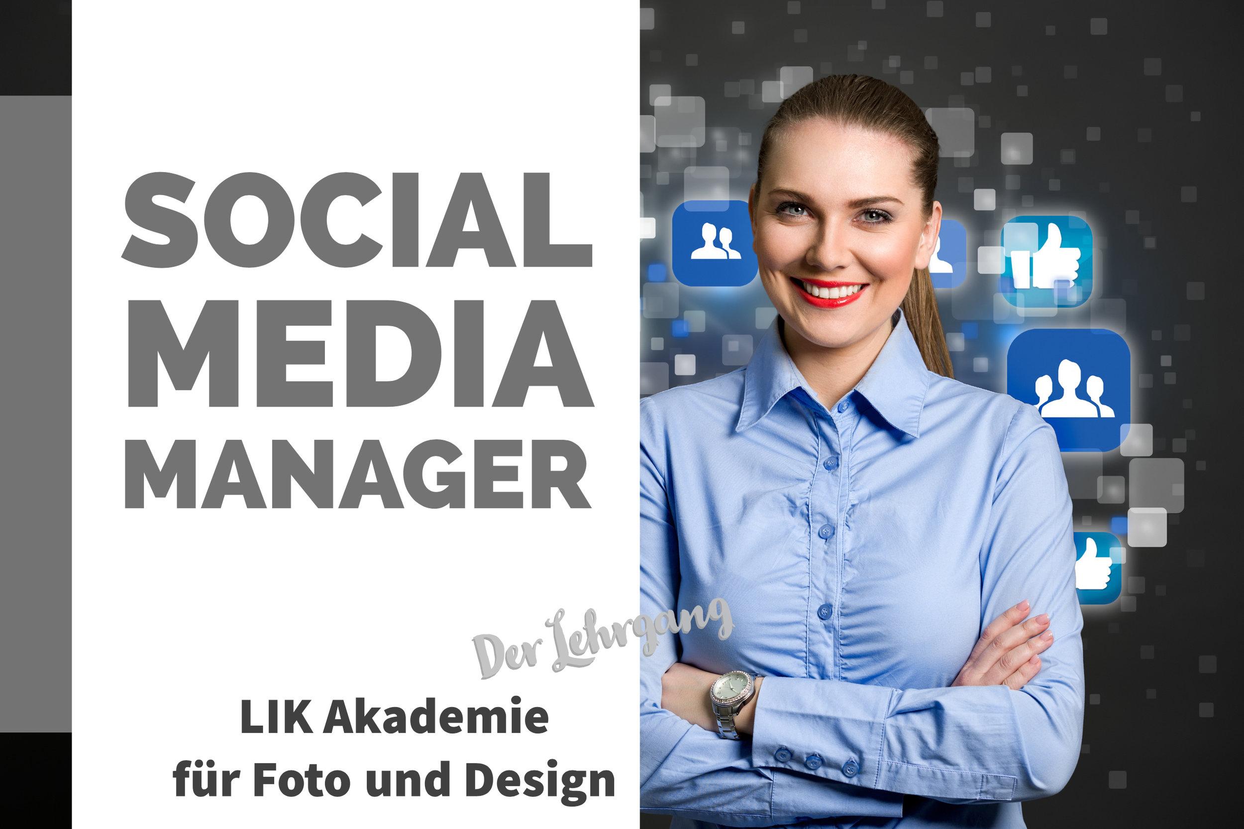 SOCIAL MEDIA MANAGER - LIK Lehrgang Social Media Management