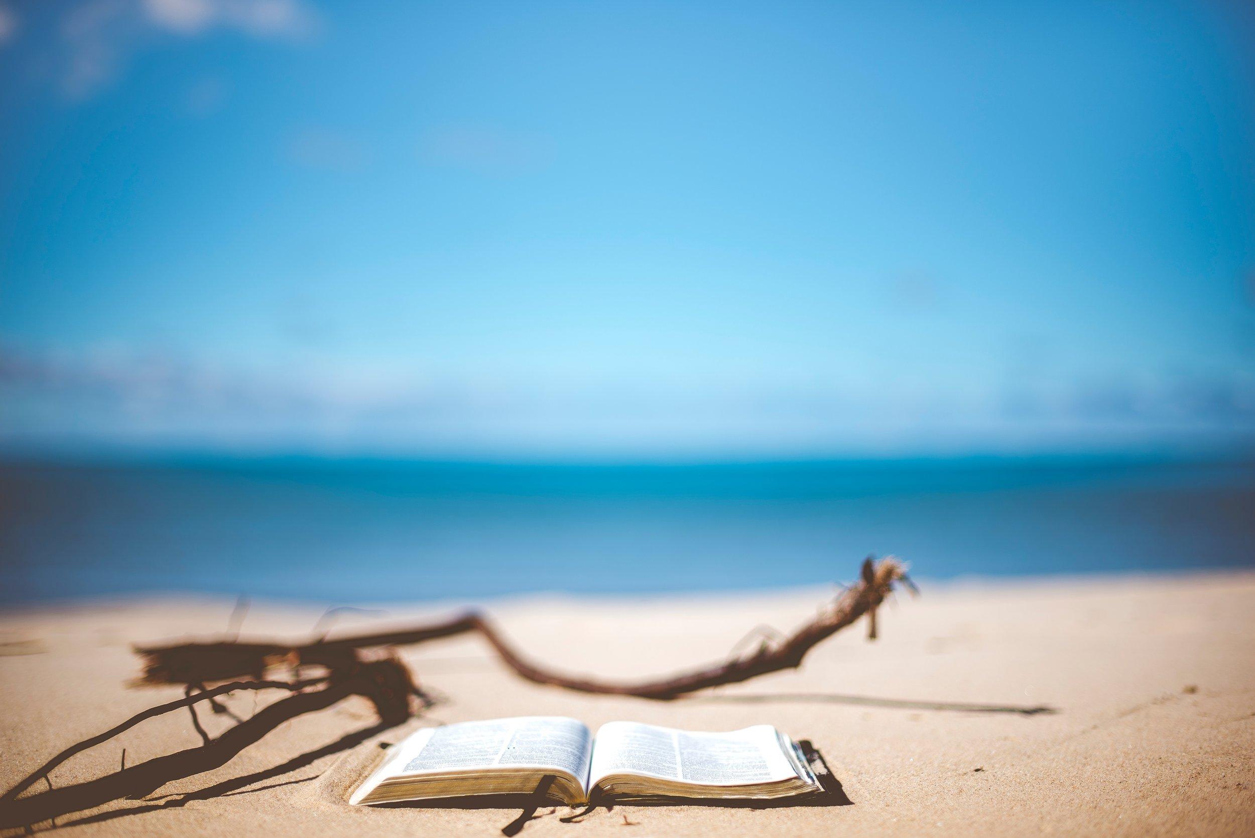 Bible by sea.jpg