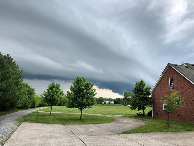 Spring time in Tennessee offers some cool storms!