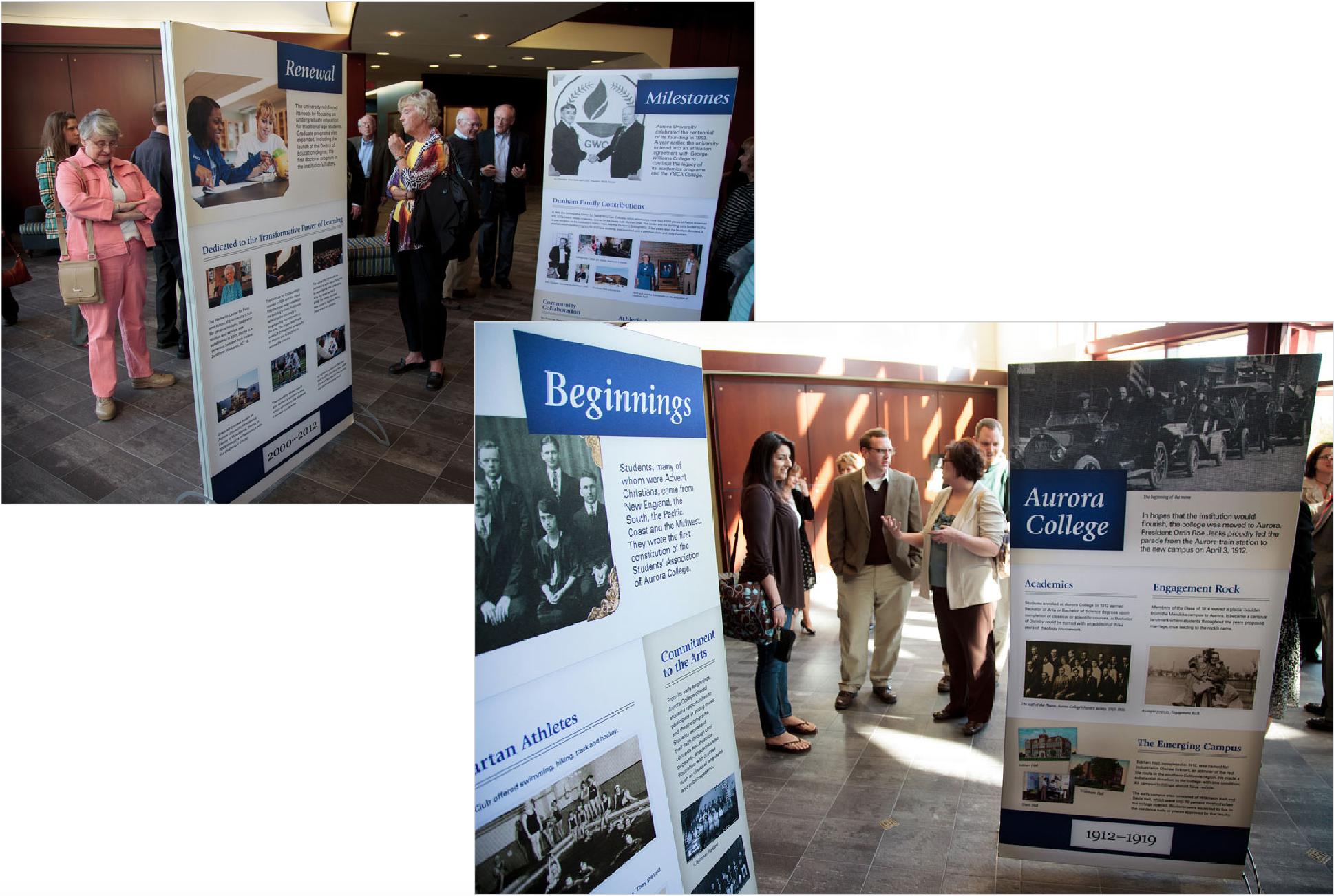 Aurora University Centennial Exhibit