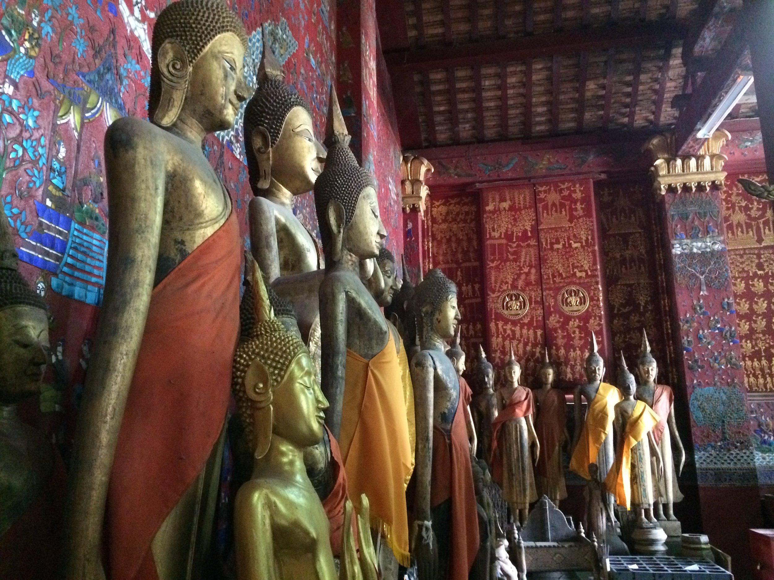 So many Buddhas.