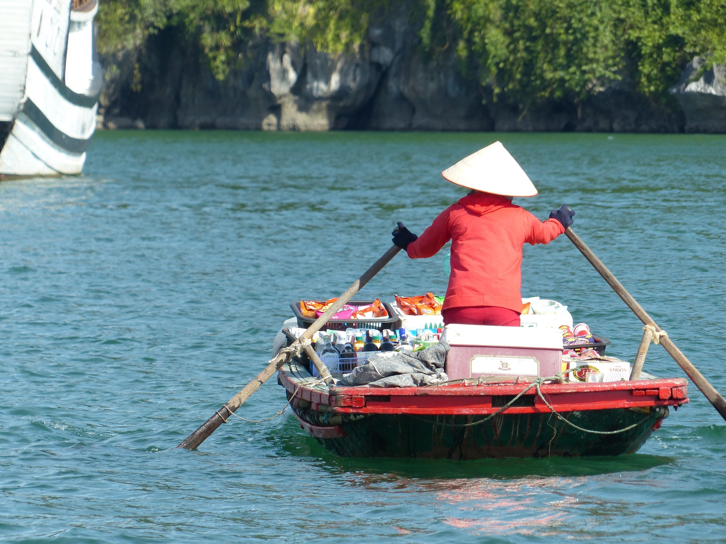 A convenience boat? in Halong Bay